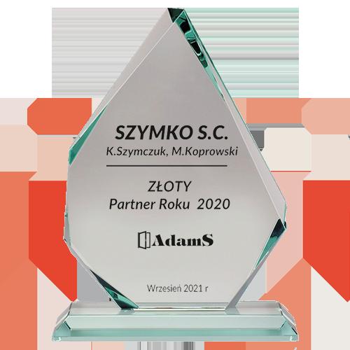ZŁOTY <BR> Partner Roku 2020