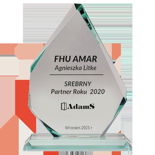 SREBNY <br> Partner Roku 2020
