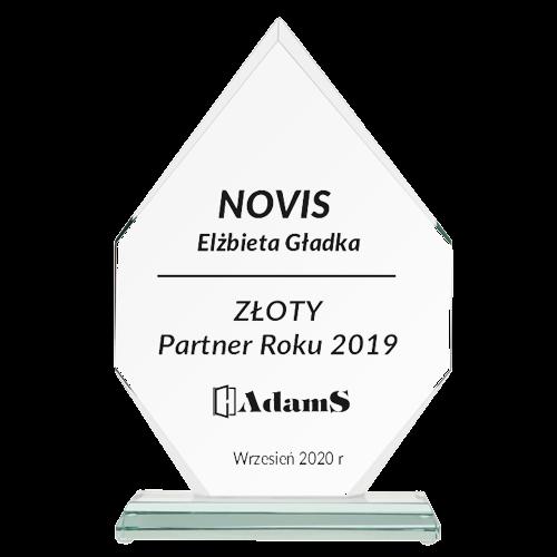 ZŁOTY <br> Partner Roku 2019