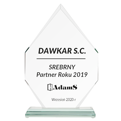 SREBRNY <br> Partner Roku 2019