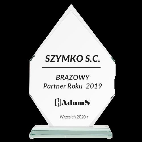 BRĄZOWY <br> Partner Roku 2019
